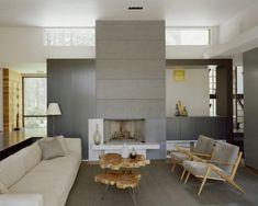 Elegant Dekoration Wohnzimmer Bilder Mit Einem Einzigartigen Holztisch