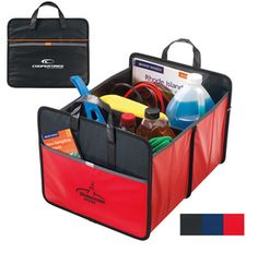 Sturdy and affordable, this laminated trunk organizer is great for transporting groceries, sports gear and more.