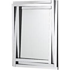 Majestic Mirror Contemporary Beveled Mirror Panels