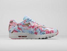 Nike Air Max 1 Ultra City — dámské boty s květinovými vzory fd1420174fd
