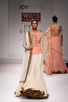 Indian Couture, Indian Ethnic Wear, Spring Summer 2015, Indian Fashion, Sari, Joy, Crop Tops, Skirts, How To Wear