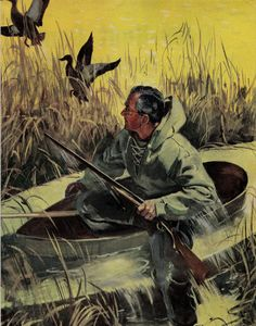 Matted Vintage Duck Hunting Print South Jersey Barrens C. Hunting Art, Duck Hunting, Wildlife Conservation, Wildlife Art, Life Magazine, Hunting Tattoos, Fishing Magazines, Duck Art, Hunting Pictures