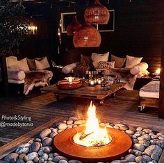 Looking back. Longing for long nights outdoor like this. Looking back. Longing for long nights outdoor like this. Outdoor Patio Designs, Small Backyard Landscaping, Outdoor Kitchen Design, Outdoor Rooms, Outdoor Decor, Outdoor Living, Outside Patio, Patio Makeover, Diy Garden Decor
