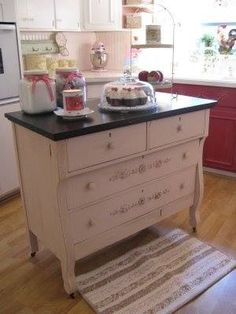 Great island for a small kitchen!