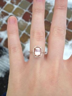 Alternatives to morganites and peach/champagne sapphires? « Weddingbee Boards