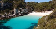 For silky sand, craggy coves and Caribbean-blue waters head to this Balearic island's picture-perfect beaches Island Pictures, Beach Pictures, Places To Travel, Travel Destinations, Places To Visit, Travel Europe, Resorts, Ibiza, New Zealand Hotels