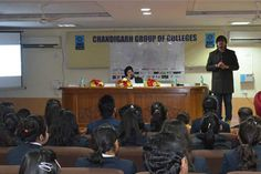 Addressing the Enthusiastic & Inquisitive audience of CGC