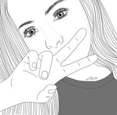 There are already enthralling, inspiring and awesome images tagged with drawing Tumblr Outline, Outline Images, Tumblr Cartoon, Girl Cartoon, Art Drawings Sketches, Cartoon Drawings, White Girl Pictures, Girl Outlines, Black And White Girl