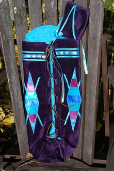 Made to Order Native American Infant Moss Bag Native American Wedding, Native American Dress, Native American Crafts, Native American Women, Indian Crafts, Work Bags, Mermaid Tails, Custom Quilts, Ribbon Work