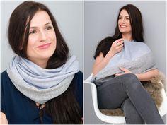 Stillmode - MANIA Stillschal Soft-Kollektion Whisper - ein Designerstück von Mania-Stillmode bei DaWanda
