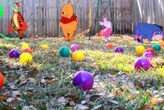 Winnie the Pooh First Birthday Party | CatchMyParty.com