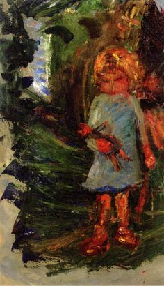 The Athenaeum - Girl (Chaim Soutine - )