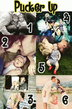 Great ideas and poses for family pictures