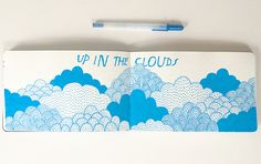 Up in the Clouds – Lisa Congdon Art + Illustration