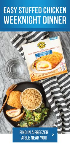 The original stuffed chicken breast by Barber Foods. Photo by: Unsophistacook Barber Foods, Pizza Recipe Video, Lunches And Dinners, Meals, Stuffed Chicken, Broccoli And Cheese, Cordon Bleu, Dinner Is Served, Chicken Breasts