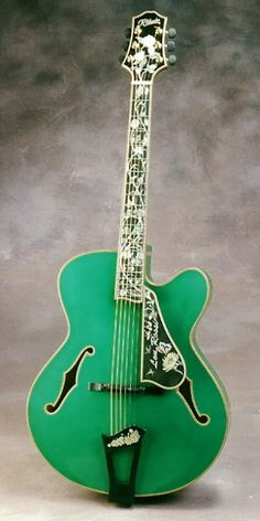 Ribbecke Guitars--love the color, just beautiful to look at.  Wonder how it sounds?