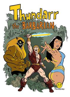 Thundarr the Barbarian is an American Saturday morning animated series, created by Steve Gerber and produced by Ruby-Spears Productions. Old School Cartoons, Retro Cartoons, Classic Cartoons, Animated Cartoons, Cool Cartoons, Saturday Morning Cartoons 80s, Cartoon Cartoon, Vintage Cartoon, Cartoon Shows