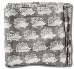 Milkbarn Organic Cotton Swaddle Blanket - Grey Hedgehog Milk Barn http://www.amazon.com/dp/B014TKEC2S/ref=cm_sw_r_pi_dp_QO.fwb14KZBBK