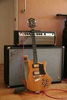 Fender Bassman 70 & Guild S 300 AD '78
