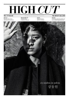 Kang Dong Won - HIGH CUT'S VOL. 160
