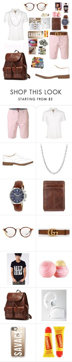 """Studs ✨🌈👯Happy Easter"" by pvppi-nyiaaa ❤ liked on Polyvore featuring Paolo Pecora, Church's, David Yurman, Michael Kors, Columbia, Ray-Ban, Gucci, Wildfang, Eos and Ghurka"
