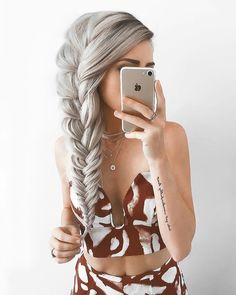 Box Braids Hairstyles, Braided Hairstyles For School, Fishtail Braid Hairstyles, African Hairstyles, Hairstyle Ideas, Natural Hairstyles, Teenage Hairstyles, Hairstyles Pictures, Wedding Hairstyle