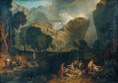Джозеф Мэллорд Уильям Тёрнер. Богиня распрей выбирает яблоко раздора в саду Гесперид. 1806