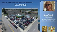 http://ift.tt/2dYSLHB Used Car Dealership For Sale Hollywood Florida  hot commercial property presented by Hollywood Commercial Realtor Kate Smith.  Transcopacabana Used Car Dealership consists of: auto-repair and auto-body shop  huge inventory of used cars for sale 30  year old used car dealership comes with substantial client database. Located at 612 N Dixie Hwy  Hollywood FL 33020.   This property is a GOLDEN COMMERCIAL OPPORTUNITY IN BOOMING DOWN TOWN HOLLYWOOD!  IM-1 zoning  permitting…