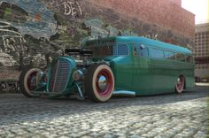 1938 Rat 'fink' Bus