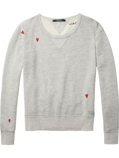 Loose Embroidered Sweater | Sweats | Ladies Clothing at Scotch & Soda