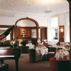 THE TEAROOM AT BROWNS HOTEL   AFTERNOON TEA