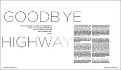 """The carving up of cities by expressways is still a civil rights problem, but it's being solved as an economic one. Read more in""""Goodbye Highways"""" by Nate Berg in the Feb. 2017 issue of Landscape Architecture Magazine."""