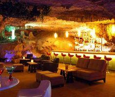 Alux Restaurant  Lounge. Playa del Carmen. Mexico.