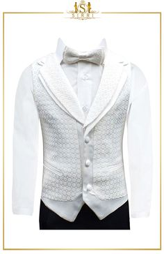 This ivory pageboy suit is one of our best selling suits and in boys formal wear, one of the highest quality suits that is currently on the market. Made with fine quality Turkish fabric, this stylish boy's suit is of exceptional quality and is sure to turn heads whatever the occasion. Shop now at SIRRI kids #suits for boys for #wedding #communion online...Elegant fashion for children and men. #fashion #shopping