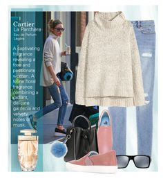 """""""Olivia Palermo"""" by bb60477 ❤ liked on Polyvore featuring H&M, Lanvin, 3.1 Phillip Lim, Oakley and Cartier"""