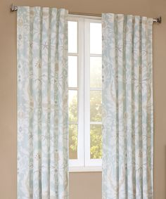 Look at this JLA Home Lagoon Curtain Panel on #zulily today!