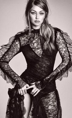 Gigi Hadid by Luigi & Iango for Vogue Japan December 2016.