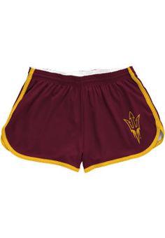 Product: Arizona State University Women's Pitchfork Mesh Short