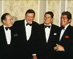 """At the 1976 Republican National Convention, Ronald Reagan was asked by a reporter if he was nervous about his upcoming speech. """"No"""" said Reagan. """"This is nothing. I once had to share the stage with John Wayne."""""""