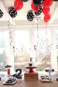 Classic Mickey Mouse Birthday Party on Kara's Party Ideas   KarasPartyIdeas.com (28)
