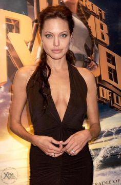 2003 - Angelina Jolie at the premiere of Lara Croft Tomb Raider: The Cradle of Life