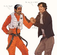 """Anonymous said: Could you draw Bodhi and Cassian holding hands? electriceidolon said: what about Bodhi doing something awesome or looking badass? The poor guy rarely ever gets to look epic. "" What if..."