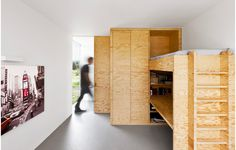 Plywood walls & furniture (by i29)