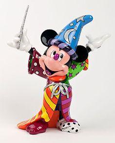 Fantasia - Sorcerer Mickey - Britto - Romero Britto - World-Wide-Art.com - $75.00 #Disney #Britto
