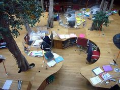 Cool office designs!