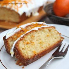 Orange Cake - would be good to make at Easter time.