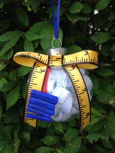 Handmade Teacher Christmas Ornament by kuteKrazyKreations on Etsy, $9.00
