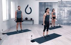 Dumbbell Workout: 5 Moves, 1 Full-Body Burn: Reverse Lunge to Bicep Curl Exercise Boxing Workout, Gym Workouts, Spartan Workout, Training Workouts, Interval Training, Workout Tips, Compound Dumbbell Exercises, Daily Burn, Legs