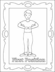 ballet coloring pages color boy first