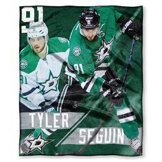 Dallas Stars NHL Tyler Seguin Silk Touch Throw 50in x 60in